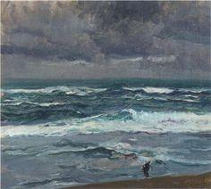Northern Seascape, oil, Joaquín Sorolla (image courtesy of Museo Sorolla)
