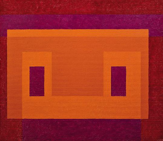 Variant, Orange Front, oil on masonite, 1948-58, Josef Albers (image courtesy of Josef and Anni Albers Foundation)