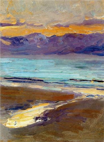 Sea Study, oil, Joaquí Sorolla, (Image courtesy of Museo Sorolla)