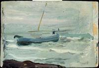 Beach Study, Joaquín Sorolla, oil (image courtesy of Museo Sorolla)