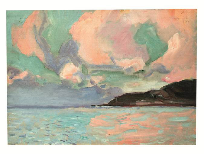 Mar de Zarauz, 1910, oil on canvas, Joaquín Sorolla (Image courtesy of Museo Sorolla)