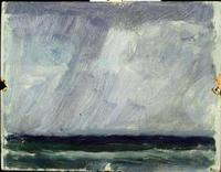 Study - Storm at Sea, oil, Joaquín Sorolla (Image courtesy of Museo Sorolla)