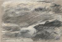 Study of Storm-tossed Sea, oil, Joaquín Sorolla (image courtesy of Museo Sorolla)