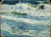 Study of Waves, oil, Joaquín Sorolla (Image courtesy of Museo Sorolla)