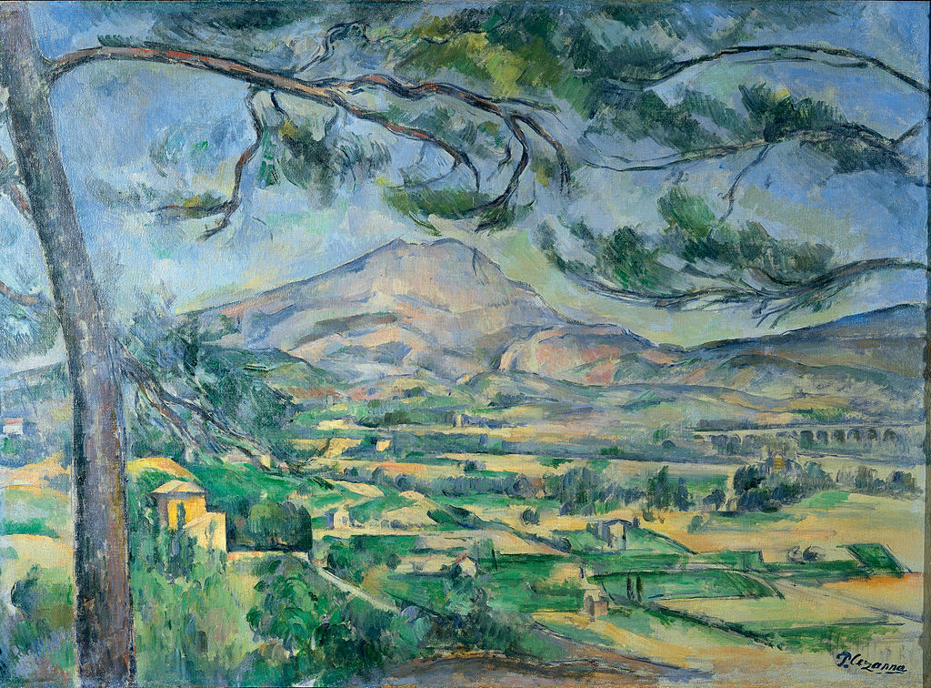 Mont Sainte-Victoire with Large Pine (c. 1887), Paul Cezanne, (Image courtesy of Courtauld Institute of Art)
