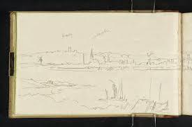 Joseph Mallard William Turner, 1831 sketch. (Image courtesy of Tate Britain)