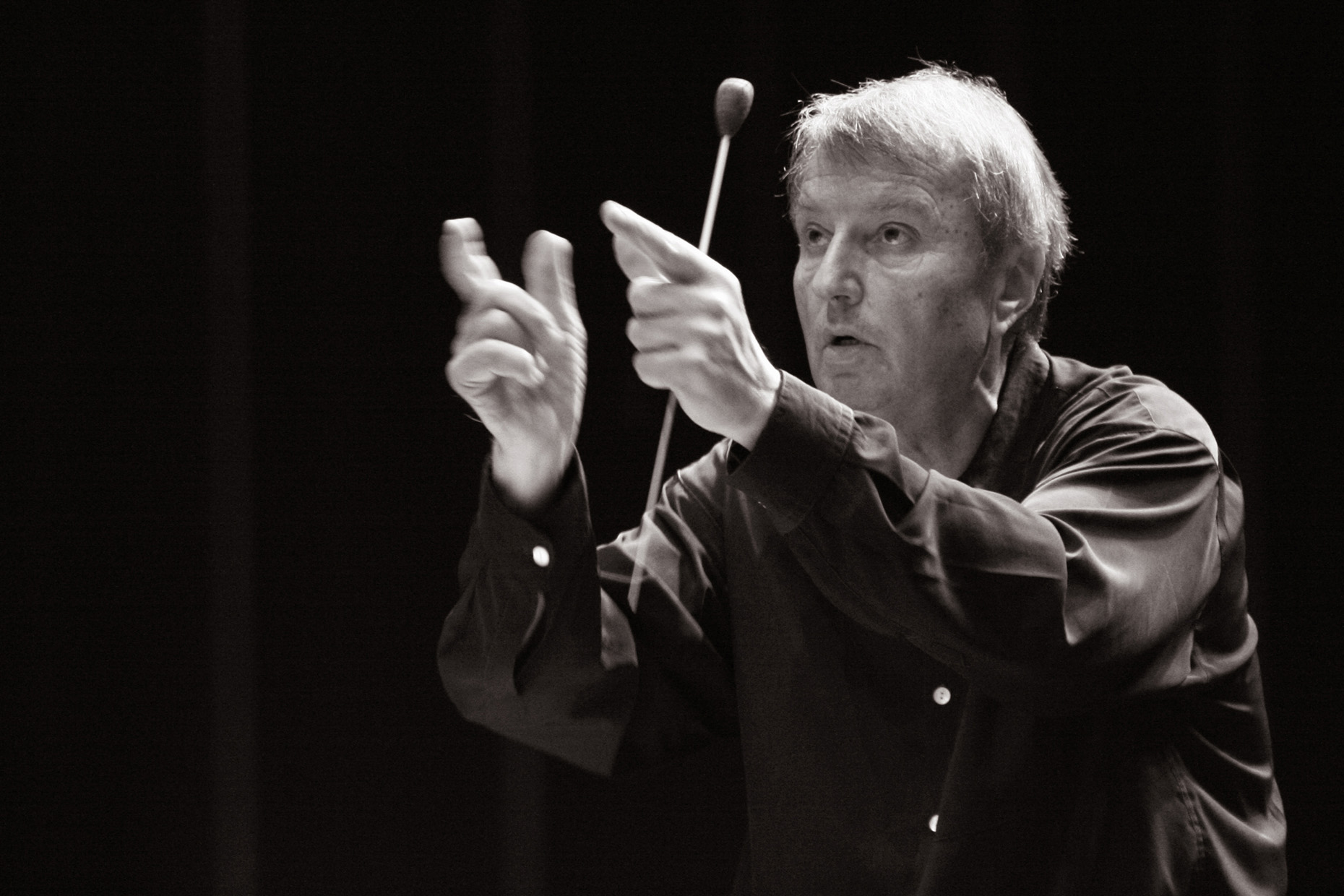 Orchestra conductor Philippe Bender