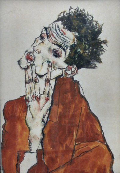 Egon Schiele, Self Portrait, 1915