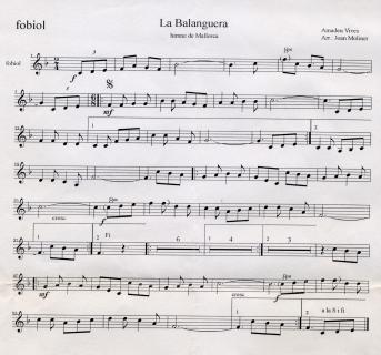 La Balanguera music