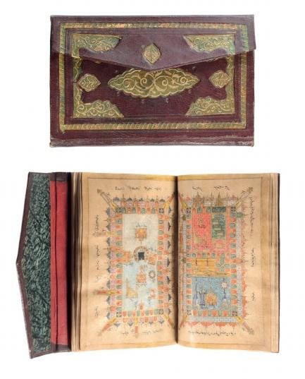 Muhammad ibn Sulayman al-Jazul, Dala'il al-khayrut, (Guide to Goodness), 18th century, Persia/Iran. Robert Edward Hart Collection, Blackburn Museum