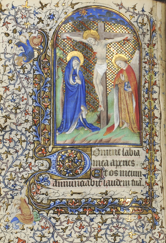 Book of Hours, 13th century, Paris, parchment, from Robert Edward Hart Collection, Blackburn Museum