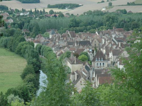 Noyers sur Serein, Burgundy, France