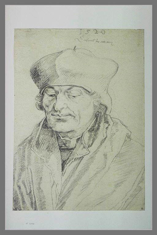 Portrait of Erasmus, Albrecht Durer, 1520, image courtesy of the Louvre, Paris