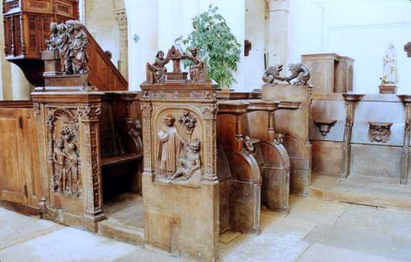 Choir Stalls, Notre-Dame de _Montréal