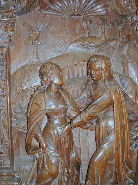The Visitation, Notre-Dame de Montroseph's Workshop, Notre-Dame de Montréal