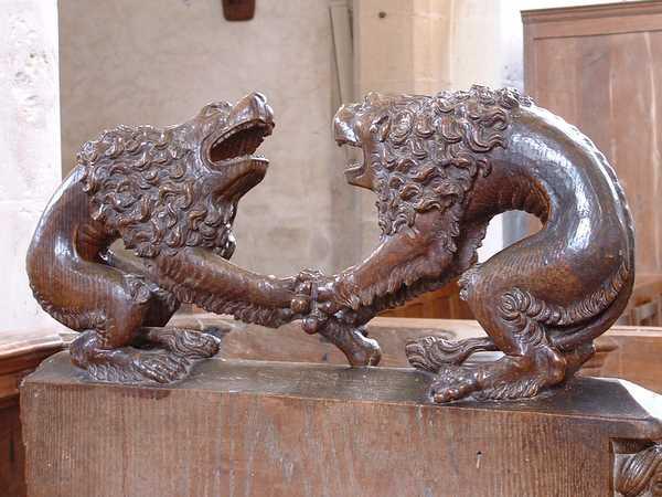 The Two Lions, Notre-Dame de Montréal