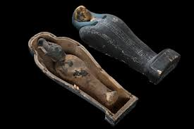 Osiris vegetans moulds, from Dendara (Image courtesy of Egyptian Museum, Cairo)