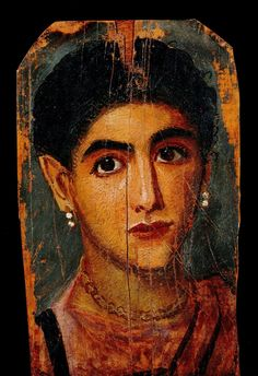 Portrait of a woman, mid 2nd century AD, Fayoum, Egypt, painting on board (Image courtesy of the Louvre)