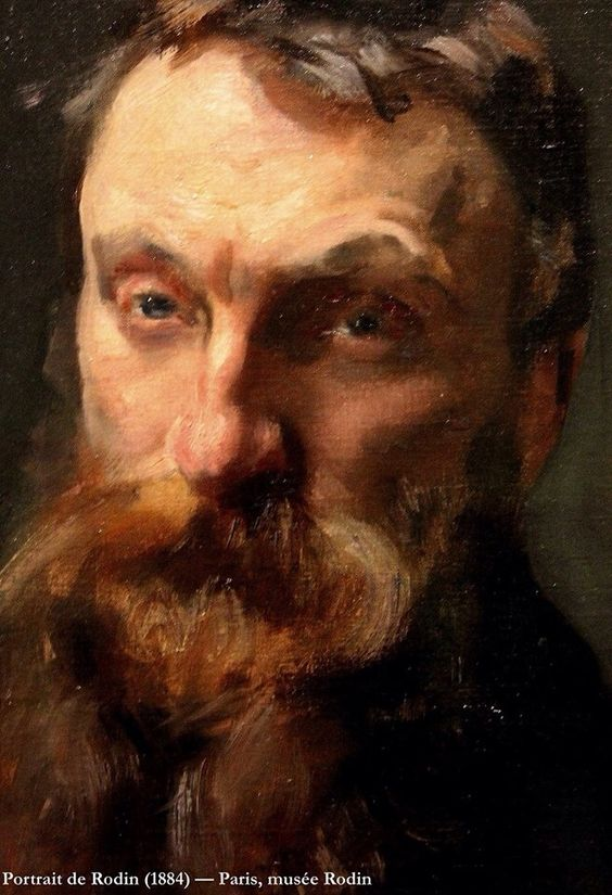 Rodin, painted in 1884 by John Singer Sergent (Image courtesy of Musee Rodin, Paris)