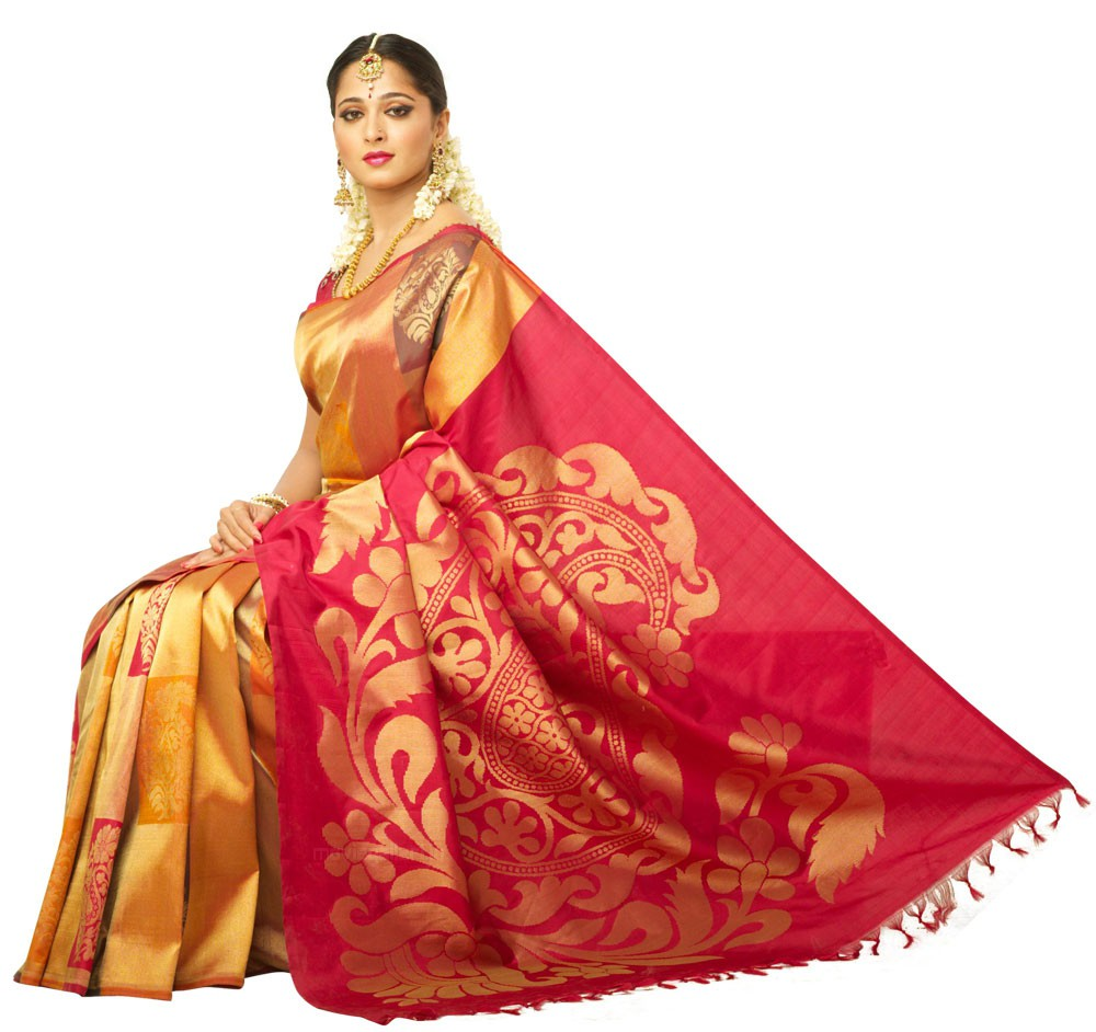 Indian Anushka Chennai silk saree