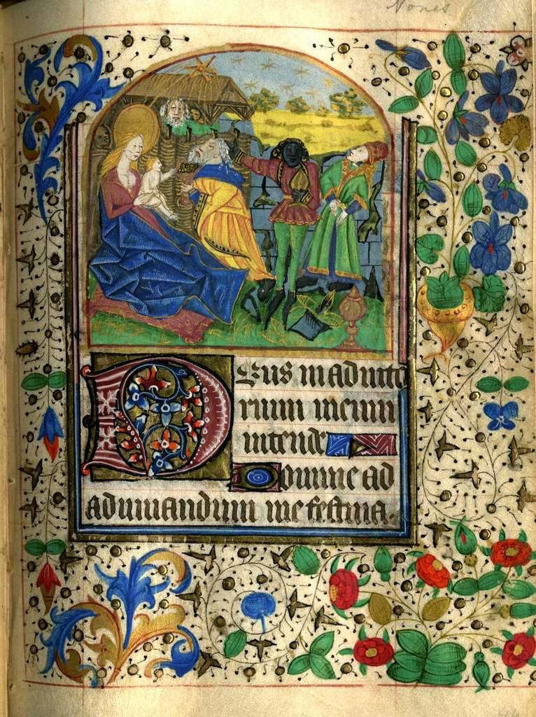 Book of Hours page, c. 1470, France