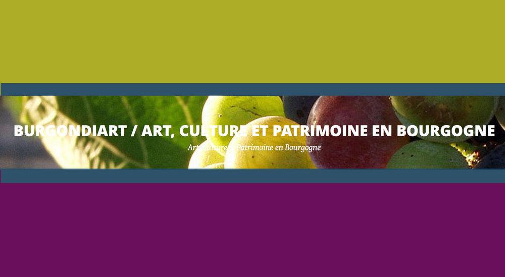 Burgondiart/Art, Culture et Patrimoine en Bourgogne, 30-10-2014