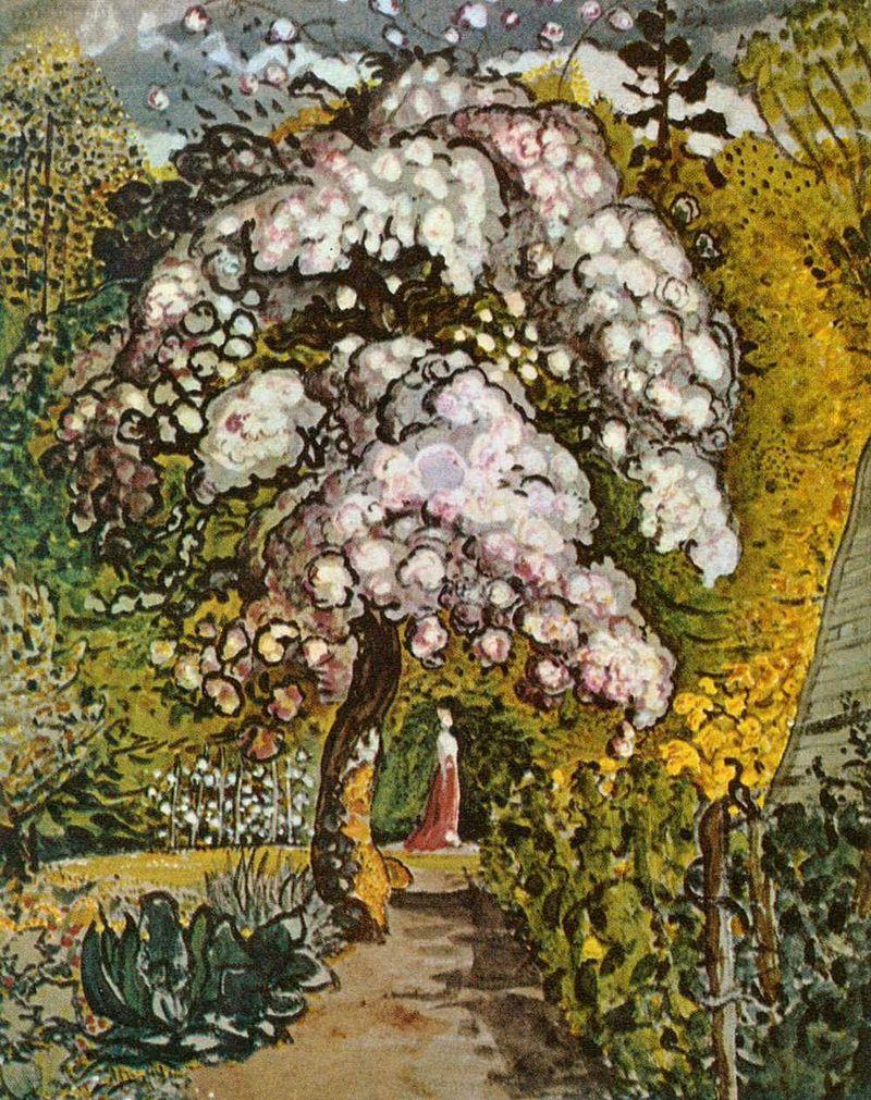 Garden in Shoreham, Samuel Palmer, 1820s or early 1830s, V & A Museum