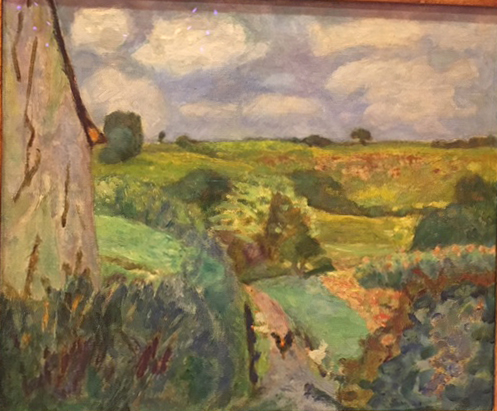 The Dippinig Path, oil on canvas, c. 1922, Pierre Bonnard, Museum Thyssen, Madrid, Collecion CarmenThyssen Bornemisza