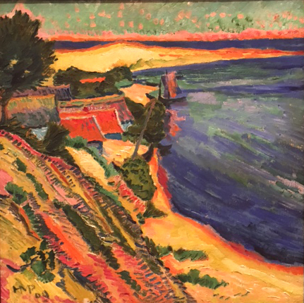 Albufera, 1909, oil on canvas, Max Pechstein, Museo Thyssen, Madrid