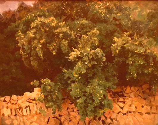 Ilex Wood, Mallorca, oil on canvas, 1908, John Singer Sargent, Museo Thyssen, Madrid