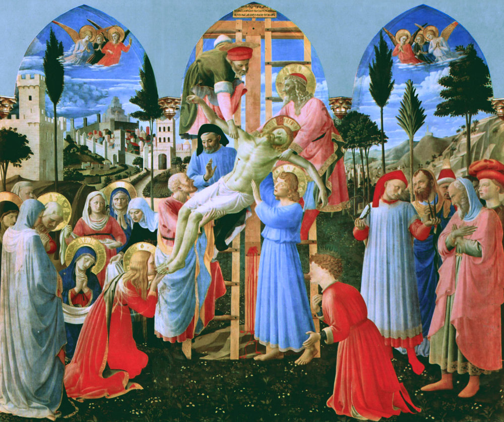 Fra_Angelico The Deposition from the Cross, 1437-1440, Museo San Marco, Florence