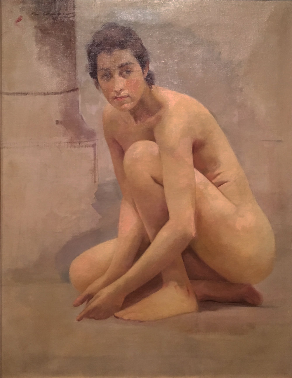 Nude, oil on canvas, 1903, Ramon Casas