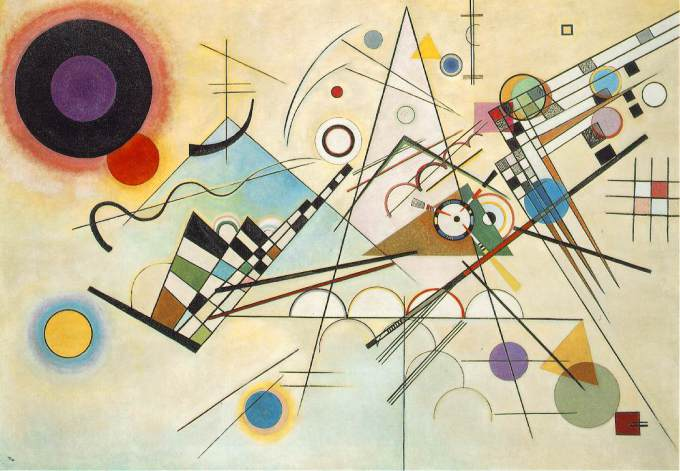 Wassily Kandinsky, 'Composition VIII' (1923) Image Courtesy of The Guggenheim Museum, New York