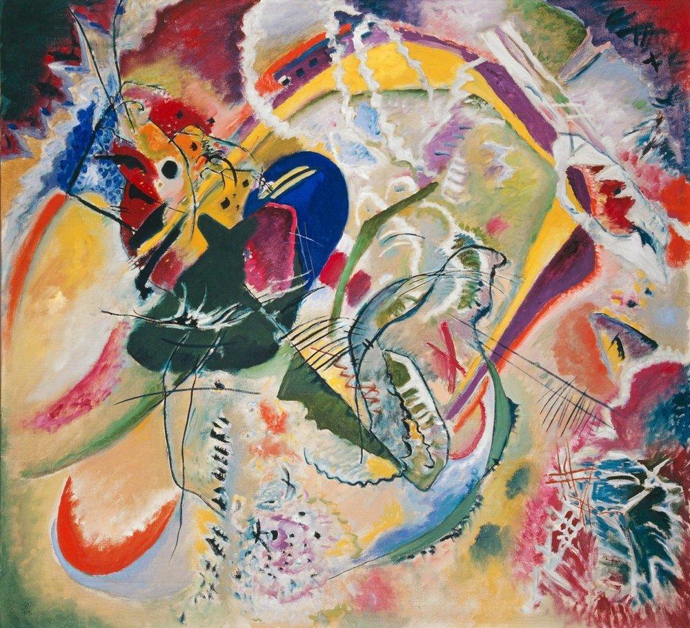 Improvisation 35, 1914, Wassily Kandinsky, Image Courtesy of the Kunstmuseum Basel