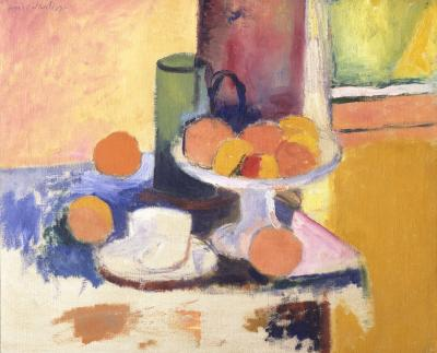 Still Life with Oranges II,  Henri Matisse, c. 1899, (image courtesy of  Kemper Art Museum)