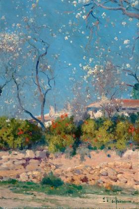 Almendros en Flor, Mallorca,  Eliseo Meifrén