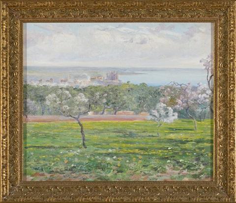 Mallorcan Landscape (near Palma),  Joan Fuster Bonnin