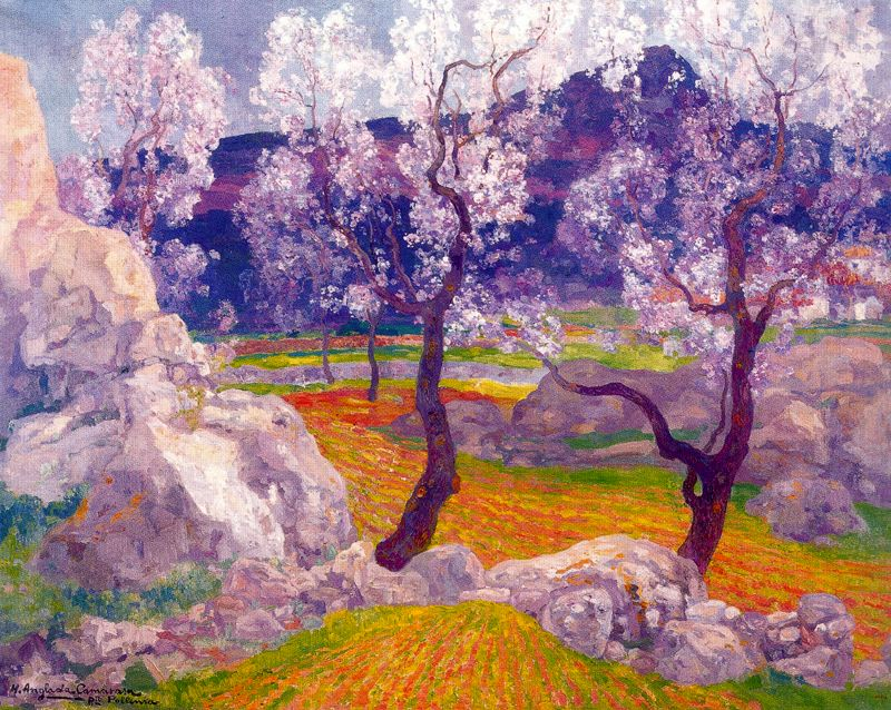 Almonds in Flower,  Hermen Anglada Camarasa
