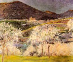 Almonds in Flower,  Pilar Muntaner (1878-1961)