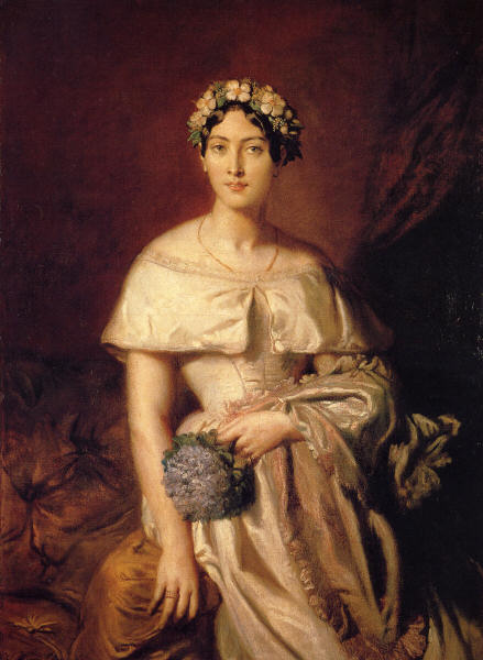 Mademoiselle de Cabarrus,  Theodore Chassériau, 1848