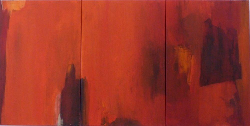 Triptych, acrylic, Ermute Blach (image courtesy of the artist)