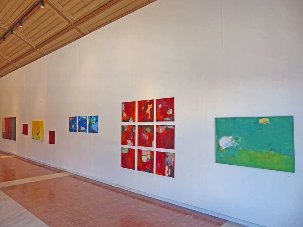 Erdmute Blach - exhibited acrylics