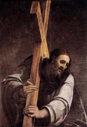 Christ Carrying the Cross, S.Del Piombo  , 1535-1540  Oil on slate, 118 x 157 cm, Museum of Fine Arts (Budapest, Hungary)