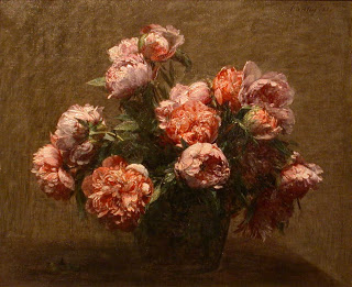 Vase of Peonies , Henri Fatin-Latour, 1881.  Image courtesy of Honolulu Academy of Arts, Honolulu, HL