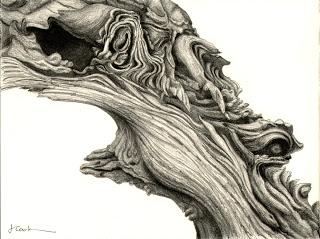 Worlds within Worlds,  2012, graphite, Jeannine Cook