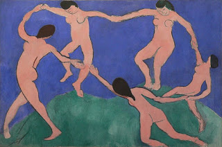 La Danse (I),  Henri Matisse, 1909.  Image courtesy of the Museum of Modern Art, New York