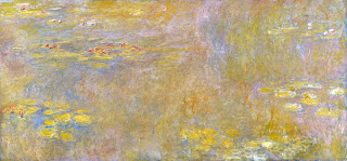 Water Lilies,  1920, C. Monet.  Image courtesy of the National Gallery, London