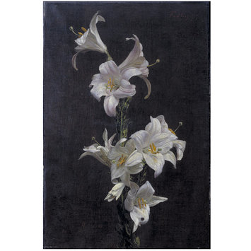 White Lilies , Henri Fatin-Latour, c. 1883, (Image courtesy of the Victoria and Albert Museum)