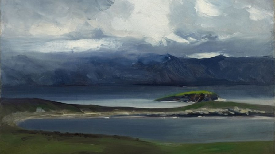 Robert Henri, 1913, West Coast of Ireland, oil on canvas (Image courtesy of Everson Museum of Art - Syracuse, NY)