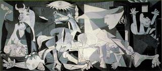 Guernica,  Pablo Picasso, 1937 (Image courtesy of Museo Reina Sofia, Madrid)